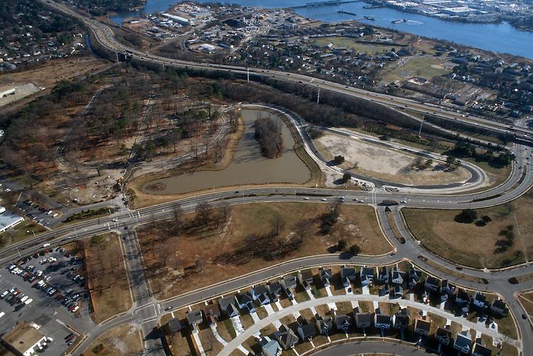 1996 January ..Redevelopment.MiddleTowne Arch.Stonebridge Crossing..Looking Southeast...NEG#.NRHA#..REDEV:Lib Pk3 17:1