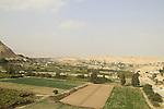 Jericho, an oasis surrounded by green fields and springs