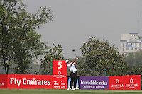 Scott Hend (AUS) on the 5th during Round 4 of the 2013 Avantha Masters, Jaypee Greens Golf Club, Greater Noida, Delhi, 17/3/13..(Photo Jenny Matthews/www.golffile.ie)