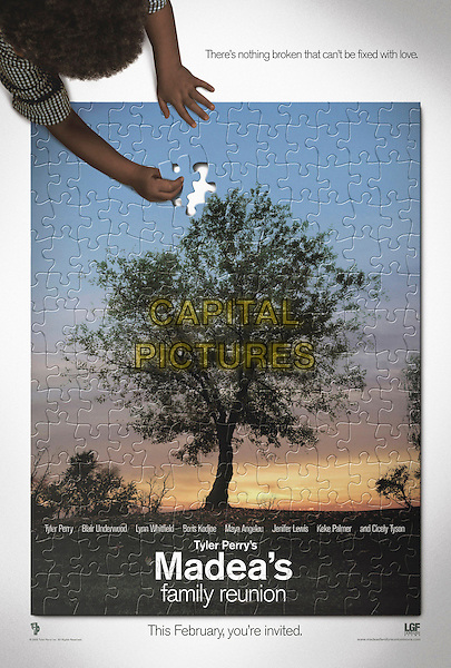POSTER.in Madea's Family Reunion.*Editorial Use Only*.www.capitalpictures.com.sales@capitalpictures.com.Supplied by Capital Pictures.