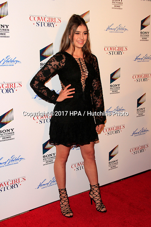 "LOS ANGELES - APR 13:  Kalani Hilliker at the ""A Cowgirl's Story"" Premiere at the Pacific Theatres at The Grove on April 13, 2017 in Los Angeles, CA"