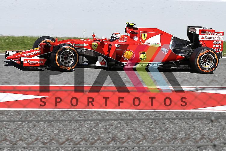 Barcelona, 10.05.15, Motorsport, Formel 1 GP Spanien 2015, Freies Training : Kimi R&auml;ikk&ouml;nen (Ferrari SF15-T, #07)<br /> <br /> Foto &copy; P-I-X.org *** Foto ist honorarpflichtig! *** Auf Anfrage in hoeherer Qualitaet/Aufloesung. Belegexemplar erbeten. Veroeffentlichung ausschliesslich fuer journalistisch-publizistische Zwecke. For editorial use only.