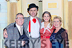 Bobby O'Connell, Ian McGuick, Lily McMonagle and Orna Cleary-O'Shea  of the Killarney Musical Society musical Me and My Girl in the INEC on Wednesday night