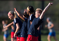 Boyds, MD - April 16, 2016: Washington Spirit midfielder Joanna Lohman (15). The Washington Spirit defeated the Boston Breakers 1-0 during their National Women's Soccer League (NWSL) match at the Maryland SoccerPlex.