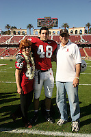 18 November 2006: Mike Silva during Stanford's 30-7 loss to Oregon State at Stanford Stadium in Stanford, CA.