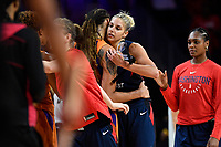 Washington, DC - July 30, 2019: during game between the Phoenix Mercury and the Washington Mystics at the Entertainment & Sports Arena in Washington, DC. The Mystics defeated the Mercury 99-93. (Photo by Phil Peters/Media Images International)