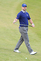 Craig Lee (ENG) on the 7th fairway during Round 3 of the 2015 Alfred Dunhill Links Championship at Kingsbarns in Scotland on 3/10/15.<br /> Picture: Thos Caffrey | Golffile