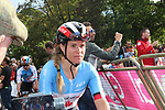Karol-Ann Canuel (CAN) at the end of the Women Elite Road Race of the UCI World Championships 2019 running 149.4km from Bradford to Harrogate, England. 28th September 2019.<br /> Picture: Seamus Yore | Cyclefile<br /> <br /> All photos usage must carry mandatory copyright credit (© Cyclefile | Seamus Yore)