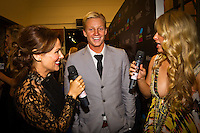 "GOLD COAST, Queensland/Australia (Friday, February 24, 2012) Kolohe Andino (USA). – The 29th Annual ASP World Surfing Awards went off tonight at the Gold Coast Convention and Exhibition Centre with the world's best surfers trading the beachwear for formal attire as the 2011 ASP World Champions were officially crowned.. .Kelly Slater (USA), 40, and Carissa Moore (HAW), 19, took top honours for the evening, collecting the ASP World Title and ASP Women's World Title respectively.. .""I have actually been on tour longer than some of my fellow competitors have been alive,"" Slater said. ""All joking aside, it's truly humbling to be up here and honoured in front of such an incredible collection of surfers. I want to thank everyone in the room for pushing me to where I am.""..In addition to honouring the 2011 ASP World Champions, the ASP World Surfing Awards included new accolades voted on by the fans and the surfers themselves...For the first time in several years, ASP Life Membership was awarded to Hawaiian legend and icon of high-performance surfing, Larry Bertlemann (HAW), 56...""Where surfing is today is where I dreamed it should be in the 70's,"" Bertlemann said. ""You guys absolutely deserve this and I'm so honored to be up here in front of you all tonight."".Grammy Award-winning artists Wolfmother and The Vernons rounded out the night's entertainment which was all streamed LIVE around the world on YouTube.com..Photo: joliphotos.com"