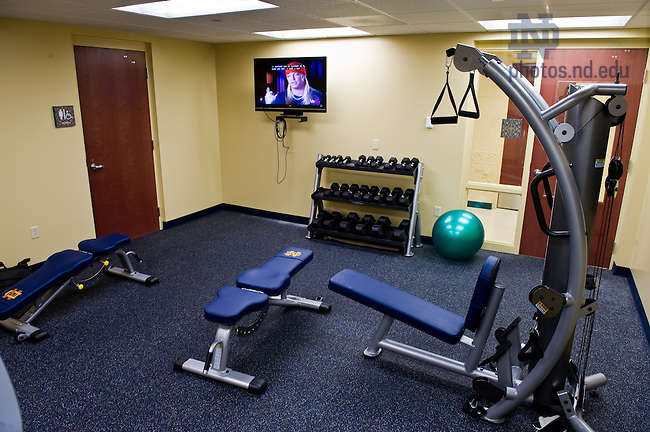 Exercise room in Ryan Hall 2009..Photo by Matt Cashore/University of Notre Dame
