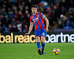 Crystal Palace's Scott Dann in action during the premier league match at Selhurst Park Stadium, London. Picture date 12th December 2017. Picture credit should read: David Klein/Sportimage