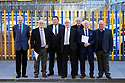 Hooded men Jim Auld, Patrick McNally, Liam Shannon, Francis McGuigan, Davy Rodgers, Brian Turley and Joe Clarke after a Amnesesty International press conference in Belfast, Northern Ireland, Tuesday 20th of March 2018. The European Court of Human Rights (ECHR) has rejected a request to find that men detained during internment in Northern Ireland suffered torture. The so-called hooded men claimed they were subjected to torture by the British army in 1971. Lawyers for the men have called on the Irish government to appeal. In 1978, the European Court of Human Rights held that the UK had carried out inhuman and degrading treatment. Photo/Paul McErlane