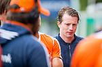 DEN HAAG - De geblesseerde Seve van Ass  bij  de trainingswedstrijd hockey Nederland-Argentinie (1-2).  COPYRIGHT KOEN SUYK