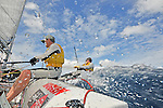 2013 - ONBOARD 5O5 WITH IAN PINNEL AND IAN MITCHELLS - BARBADOS