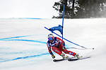 December 1, 2017:  Norway's, Kjetil Jansrud #15, charges down a very fast slope on his way to a second place finish in the Super G competition during the FIS Audi Birds of Prey World Cup, Beaver Creek, Colorado.