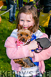 "At the St Patricks Day Dog show in aid of Recovery Haven in the Town Park on Thursday wereClaire Godley with ""Lexie"""