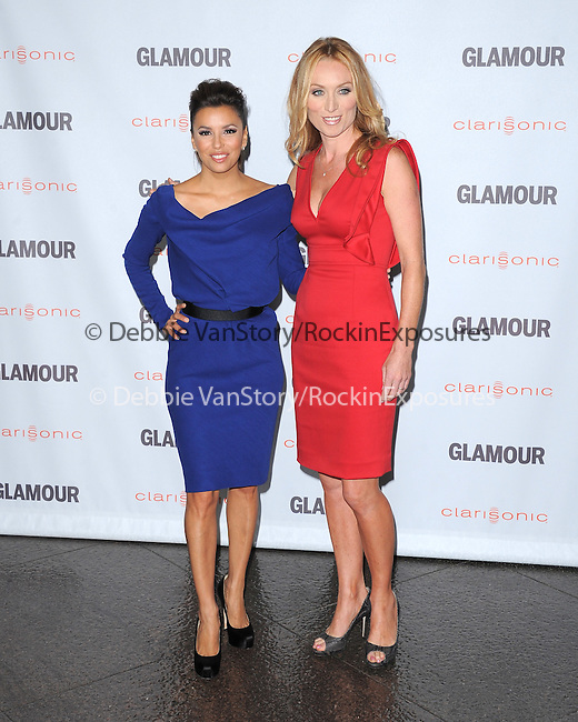 Eva Longoria and Victoria Smurfit at The Glamour Reel Moments held at The Directors Guild of America in West Hollywood, California on October 24,2011                                                                               © 2011 Hollywood Press Agency