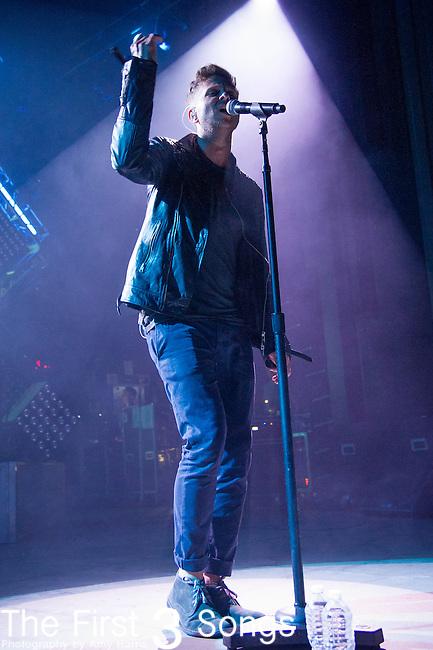 Ryan Tedder of OneRepublic performs at the Lifestyle Communities Pavilion in Columbus, Ohio.