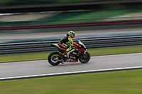 2nd November 2019; Sepang Circuit, Sepang Malaysia; MotoGP Malaysia, Qualifying Day;  The number 29 Aprilia Racing Team Gresini rider Andrea Iannone during qualifying - Editorial Use