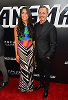 Alexandra Escat &amp; Jasper Paakkonen at the Los Angeles premiere of &quot;BlacKkKlansman&quot; at the Academy's Samuel Goldwyn Theatre, Beverly Hills, USA 08 Aug. 2018<br /> Picture: Paul Smith/Featureflash/SilverHub 0208 004 5359 sales@silverhubmedia.com