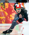Haralds Silovs of Latvia compete during the Short Track Speed Skating as part of the 2014 Sochi Olympic Winter Games at Iceberg Skating Palace on February 10, 2014 in Sochi, Russia. Photo by Victor Fraile / Power Sport Images