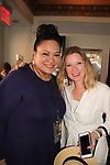 "Sibyl Reymundo-Santiago - executive director of SOHO International Film Festival poses with actress Cady McClain who producted and directed ""Butterflies"" on June 16, 2018 in New York City, New York. (Photo by Sue Coflin/Max Photo)"