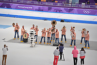 OLYMPIC GAMES: PYEONGCHANG: 14-02-2018, Gangneung Oval, Long Track, 1000m Ladies, Kleintje Pils, ©photo Martin de Jong