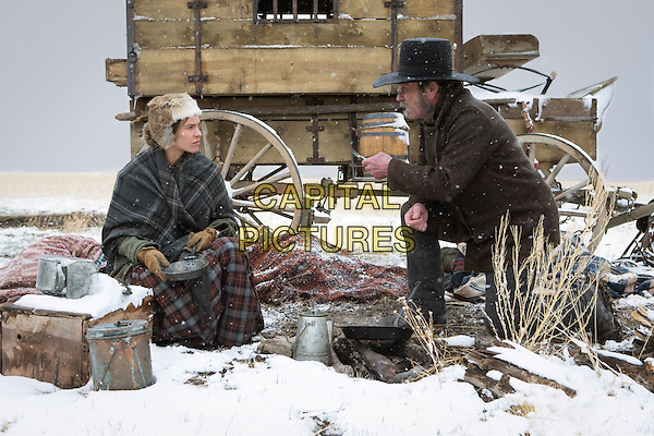 Hilary Swank, Tommy Lee Jones<br /> in The Homesman (2014) <br /> *Filmstill - Editorial Use Only*<br /> CAP/NFS<br /> Image supplied by Capital Pictures