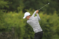 Adam Challoner (Galway Bay) on the 1st tee during the Connacht U12, U14, U16, U18 Close Finals 2019 in Mountbellew Golf Club, Mountbellew, Co. Galway on Monday 12th August 2019.<br /> <br /> Picture:  Thos Caffrey / www.golffile.ie<br /> <br /> All photos usage must carry mandatory copyright credit (© Golffile | Thos Caffrey)