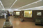 Israel, Upper Galilee, the Prehistoric man museum in Ma'ayan Baruch