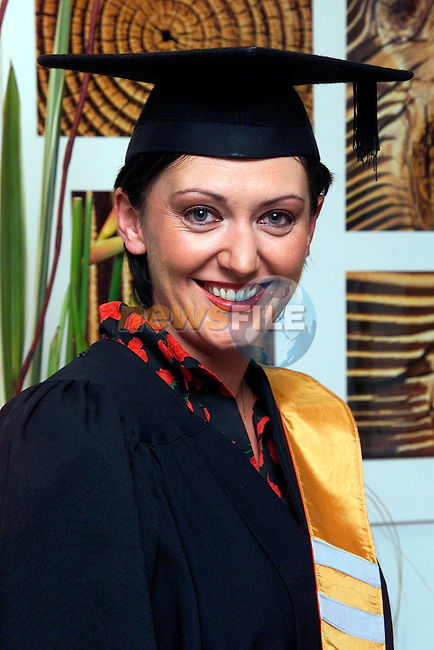 Kathleen Tiernan from Ashfield Grove who received a Certificate in Computer Applications and Support at the Conferring day at Dundalk Institute of Technology..Picture: Paul Mohan/Newsfile