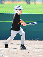 PNLL Farm Giants action at the Pleasanton Sports Park April 24, 2014. (Photo by Alan Greth/AGP Photography)
