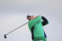 Caolan Rafferty from Ireland on the 5th tee during Round 3 Singles of the Men's Home Internationals 2018 at Conwy Golf Club, Conwy, Wales on Friday 14th September 2018.<br /> Picture: Thos Caffrey / Golffile<br /> <br /> All photo usage must carry mandatory copyright credit (&copy; Golffile | Thos Caffrey)