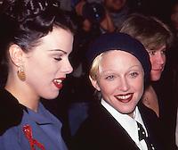 Madonna &amp; Debi Mazar Malcolm X<br /> Premiere NYC by Jonathan Green