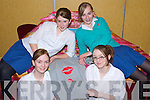 BOUTIQUE: Pobail Scoil Chorca Dhuibhne students Aoileann Kennedy, Meghan Leahy, Rachel Clifford and Ciara Flannery, finalists in the Kerry County Enterprise Boards' Annual Student Enterprise Awards on Tuesday who set up a Boutique and had hoodies printed.    Copyright Kerry's Eye 2008