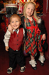 Matthew Bagby,2, and Sklyar Polk,4, at the opening night of The Nutcracker at the Wortham Theater Friday Nov. 27,2009. (Dave Rossman/For the Chronicle)