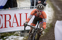Lars Van der Haar (NLD) <br /> <br /> Elite Men's race<br /> <br /> 2015 UCI World Championships Cyclocross <br /> Tabor, Czech Republic