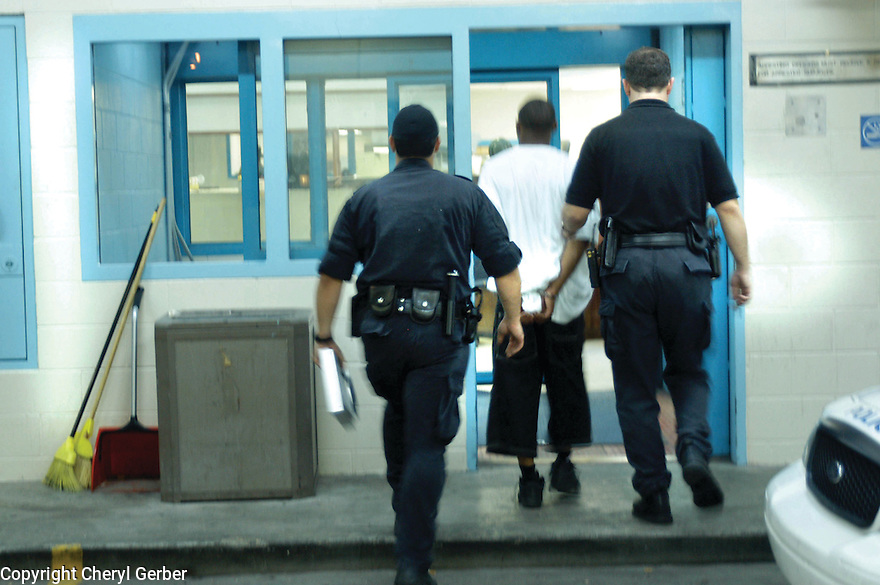 A man goes to Central Lockup, 2004