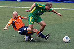 Rangers Legends vs Wallsend Boys Club during the Day 2 of the HKFC Citibank Soccer Sevens 2014 on May 24, 2014 at the Hong Kong Football Club in Hong Kong, China. Photo by Victor Fraile / Power Sport Images