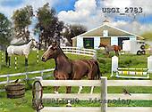 GIORDANO, REALISTIC ANIMALS, REALISTISCHE TIERE, ANIMALES REALISTICOS, paintings+++++,USGI2783,#A# horses,