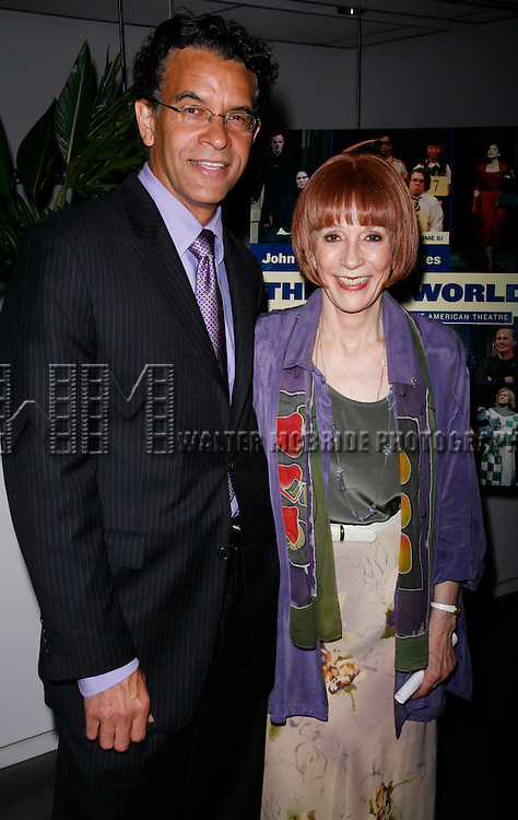 Brian Stokes Mitchell &amp; Patricia Elliott<br /> attending the 2007 Theatre World Awards for Outstanding Broadway or Off-Broadway Debuts. Held at the World Stages Theatre in New York City. June 5, 2007