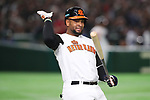 Wladimir Balentien (NED), <br /> MARCH 12, 2017 - WBC : <br /> 2017 World Baseball Classic <br /> Second Round Pool E Game <br /> between Japan 8-6 Netherlands <br /> at Tokyo Dome in Tokyo, Japan. <br /> (Photo by YUTAKA/AFLO SPORT)