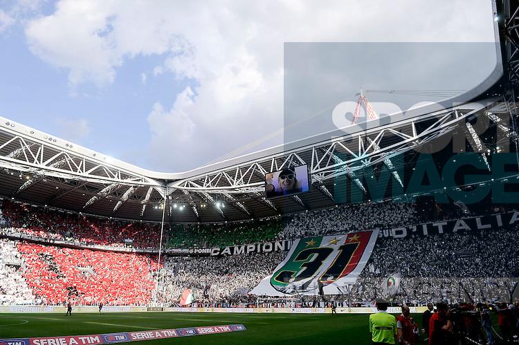 Lo Juventus stadium.Festeggiamenti Juventus Campione d'Italia .Torino 11/05/2013 Juventus Stadium.Football Calcio Serie A  2012/13.Juventus vs Cagliari.Foto Insidefoto Federico Tardito