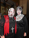 Martin and Patricia Berrill at the Halloween Ball in the Thatch in aid of Motor Neurone Disease Oncology Dept of Our Lady of Lourdes hospital. Photo:Colin Bell/pressphotos.ie