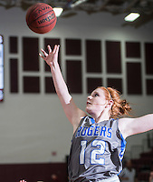 NWA Democrat-Gazette/ANTHONY REYES • @NWATONYR<br /> Elise Randels Rogers junior shootsagainst Siloam Springs Wednesday, Dec. 30, 2015 at Panther Gymnasium in Siloam Springs.