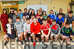 The KCFE and St Pats Blennerville GAA Club launch a sport scholarship to recruit new referees at the KCFE Clash Campus on Tuesday.