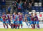 Inverness Caley Thistle v St Johnstone&hellip;27.08.16..  Tulloch Stadium  SPFL<br />Josh Meekings celebrates his goal<br />Picture by Graeme Hart.<br />Copyright Perthshire Picture Agency<br />Tel: 01738 623350  Mobile: 07990 594431