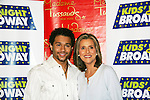"Special appearance by National Ambassador Meredith Vieira (All My Children & General Hospital) and Corbin Bleu (new star of In the Heights and High School Musical veteran at the14th Annual Kids' Night on Broadway 2010  ""Fan Festival"" on February 2, 2010 at Madame Tussauds New York -(Photo by Sue Coflin/Max Photos)"