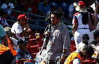 FOTOGRAFO  Carlos Loya, durante el partido de beisbol entre<br /> Criollos de Caguas de Puerto Rico contra las &Aacute;guilas Cibae&ntilde;as de Republica Dominicana, durante la Serie del Caribe realizada en estadio Panamericano en Guadalajara, M&eacute;xico,  s&aacute;bado 4 feb 2018. <br /> (Foto  / Luis Gutierrez)