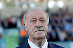 Spain's coach Vicente del Bosque during international friendly match. June 7,2016.(ALTERPHOTOS/Acero)